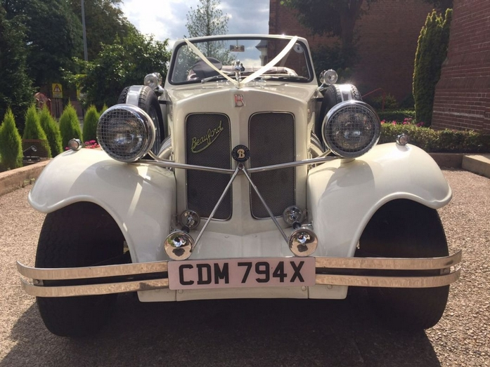 Beauford Open tourer at Wedding