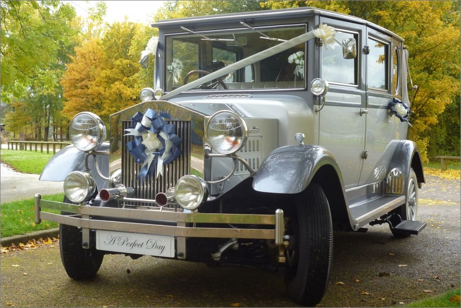 Imperial Landaulette Wedding Car for Hire