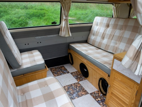 VW Camper Van Wedding Car Interior